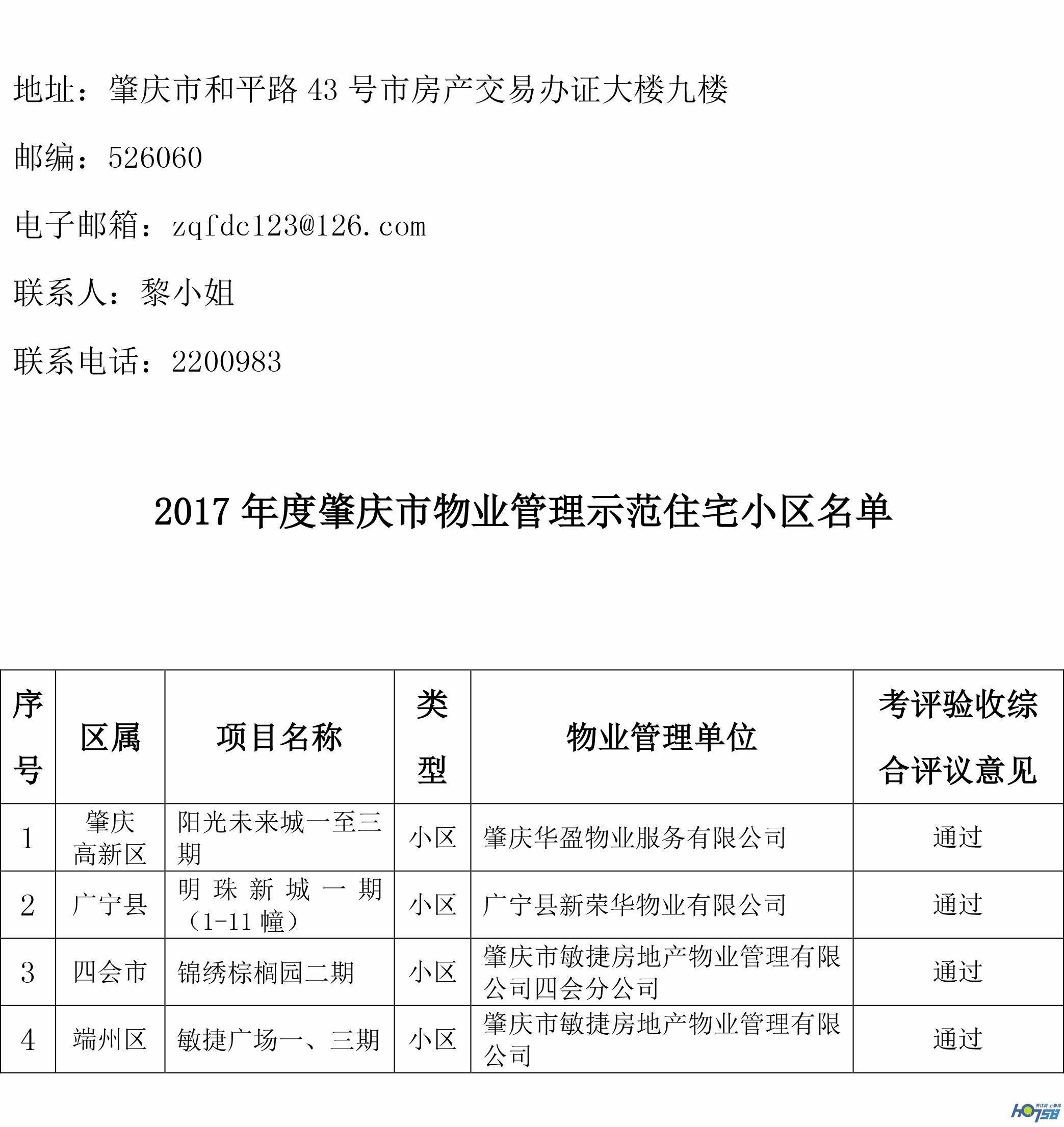 关于2017年肇庆市物业管理示范项目考评结果的公示-2_看图王.jpg